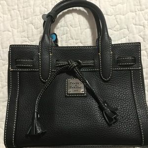 Dooney and Burke handbag black